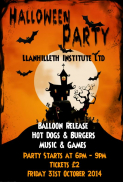 Halloween Party @ Llanhilleth Institute