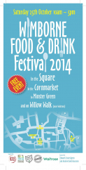 Wimborne's Food and Drink Festival