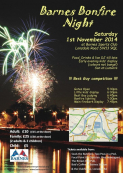 Barnes Bonfire and Fireworks