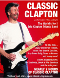 CLASSIC CLAPTON at Huntingdon Hall, Worcester