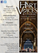 This Musical Assembly: A Hart Voices Concert for St Cecilia's Day