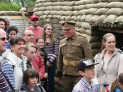 Trench Tour and Discovery Day at the Staffordshire Regiment Museum