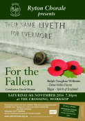 For The Fallen – Ryton Chorale concert