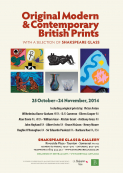 Exhibition of Original Modern & Contemporary British Prints with Shakspeare Glass