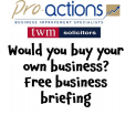 Would you buy your own company? Free Business Briefing with Pro-actions Surrey & TWM Solicitors @PASurrey @TWMSolicitors