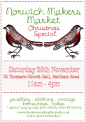 Norwich Makers Market- Christmas Market