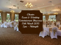 Chester Event & Wedding Entertainment Showcase. Craxton Wood Hotel