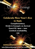 New Years Party at The Oast Lounge St Neots
