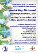 "Ipswich Choral Society in conjunction with the Mayor of Ipswich presents ""Ipswich Sings Christmas!"""