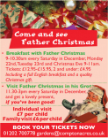 Breakfast with Father Christmas at Compton Acres
