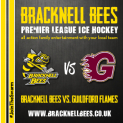 Bracknell Bees v Guildford Flames Premier League Ice Hockey
