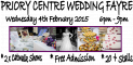 Priory Centre Wedding Fayres 2015