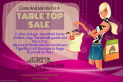 Table Top Sale at Letterston Memorial Hall