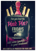 Pink Pin Fridays at AMF Bowling in Shrewsbury