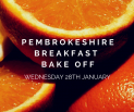 Pembrokeshire Breakfast Bake Off