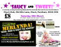 Saucy and Sweet - A night of entertainment with Merlynda the comedy poet and Sweet Crumb Cabaret