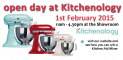Invitation to our Chef Open Day at Kitchenology
