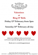 Valentine's at The Ring O'Bells
