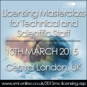 Licensing Masterclass for Technical and Scientific Staff