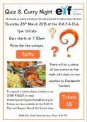Quiz and Curry Night in aid of Empowering Youth Foundation