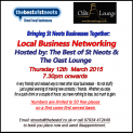 Business Networking in St Neots - Thursday 12th March