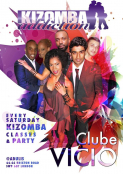 Kizomba Dance Classes & Party in London the Saturday 7th Of March - Clube Vicio