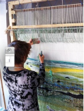 Tapestry Weaving with Ros Hornbuckle