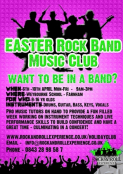 Easter Rock Band Holiday Club