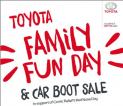 Red Nose Family Fun Day &  Car Boot at Toyota Burgh Heath #rednoseday  @toyotaGB