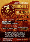 Jubilee Club Birmingham at The Institute feat. Rob Holliday and more