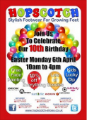 Hopscotch Shoes are celebrating their 10th Birthday – Harrogate