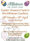 Easter Treasure Hunt In The Milntown Gardens 28 Mar - 13 Apr