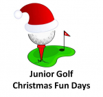 Junior Golf Christmas Fun Days at Epsom Golf Club @epsomgolfclub