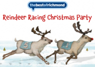 Reindeer Racing Christmas Party with The Best of Richmond