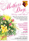 Treat Your Mum to a 3 Course Sunday Roast Carvery!