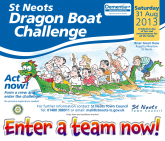 St Neots Dragon Boat Challenge - Charity Event