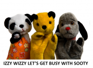 Izzy Wizzy Let's Get Busy With Sooty @EpsomPlayhouse