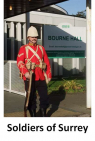 Soldiers of Surrey Day at Bourne Hall Ewell – in aid of SSAFA  @epsomewellbc @SSAFA