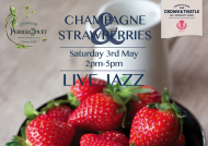 Champagne and Strawberries with Live Jazz