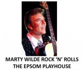 Marty Wilde Rock 'N' Rolls The Epsom Playhouse @Epsomplayhouse
