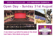 Epsom Playhouse 30th Anniversary Celebration @EpsomPlayhouse