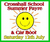 Crosshall Junior School Summer Fete & Car Boot Sale