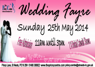 WEDDING FAYRE AT THE PRIORY CENTRE ST NEOTS