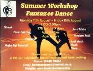Fantazee Dance Summer School Workshop St Neots