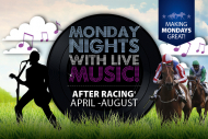 Monday Night Racing with Live Music