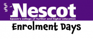 Open Enrolment Days at Nescot Epsom  @nescot