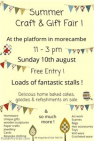 Summer Craft and Gift Fair at the Platform