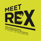 Meet Rex and other Dinosaurs at The Wilson