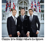 Brit Award Winners BLAKE are back by popular demand @EpsomPlayhouse