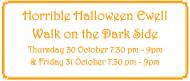 Horrible Halloween #Ewell - Walk On The Dark Side #BourneHall @epsomewellbc